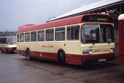 Rhondda 629 Caerphilly Bus Stn Sep 94