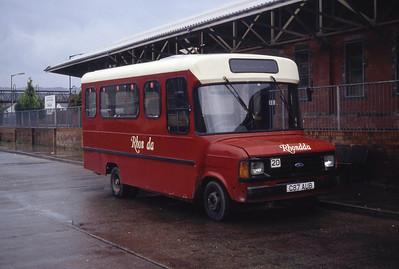 Rhondda 20 Caerphilly Bus Stn Sep 94
