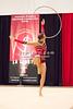 Rhythmic gymnast Melitina Staniouta of Belarus performs hoop during 2013 LA Lights Rhythmic Gymnastics meet in Culver City, CA.  January 26th, 2013 (photo by James Glader)