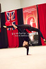 Rhythmic gymnast  Alina Maksymenko of Ukraine performs with  ball  during 2013 LA Lights Rhythmic Gymnastics meet in Culver City, CA.  January 26th, 2013 (photo by James Glader)