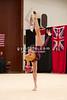Rhythmic gymnast Aliya Protto of USA performs with ball during 2013 LA Lights Rhythmic Gymnastics meet in Culver City, CA.  January 26th, 2013 (photo by James Glader)