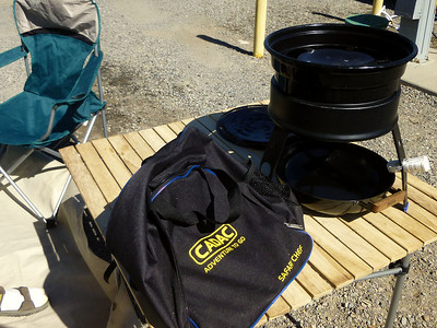 Portable BBQ - A must for every Rv adventure