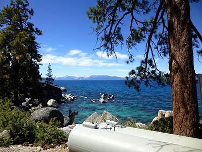 Thunderbird Lodge towards Lake Tahoe