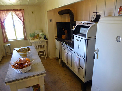Thunderbird Lodge original kitchen circa 1940