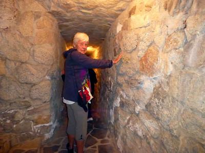 600' Underground Tunnel 60' beneath the ground.
