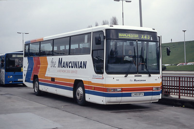 Stagecoach Ribble 148 Burnley Bus Station Mar 94