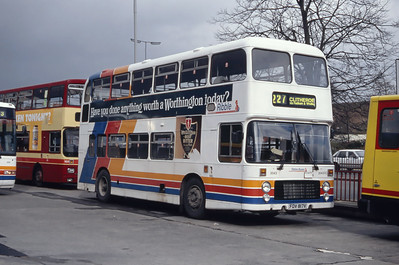 Stagecoach Ribble 2043 Burnley Bus Station Mar 94