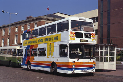 Stagecoach Ribble 1671 Blackburn Bus Stn Sep 91