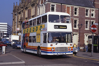 Stagecoach Ribble 2090 Railway Rd Blackburn Sep 91