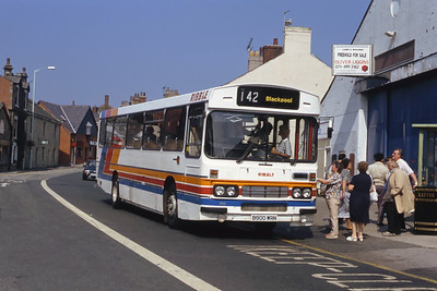 Stagecoach Ribble 900 Bridge St Garstang Sep 91