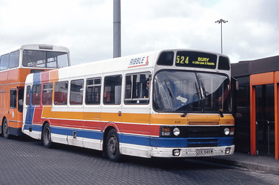 Stagecoach Ribble 846 Moor Lane Bus Station Bolton Mar 94