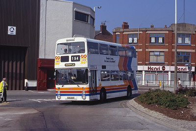 Stagecoach Ribble 1675 Preston Bus Stn Sep 91