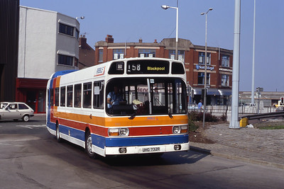 Stagecoach Ribble 732 Preston Bus Stn Sep 91