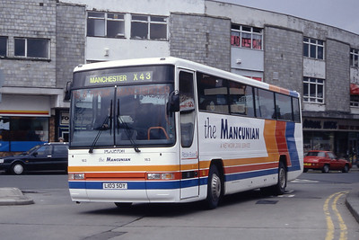 Stagecoach Ribble 163 Burnley Bus Station Mar 94