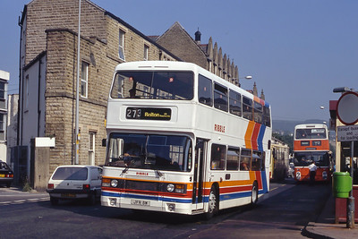 Stagecoach Ribble 2108 Bacup Rd Rawtenstall Sep 91