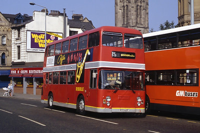 Stagecoach Ribble 1421 Cannon St Manchester Sep 91