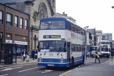 Stagecoach Ribble 1206 Fishergate Preston Mar 94