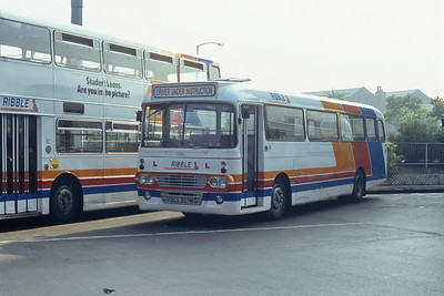 Stagecoach Ribble T252 Preston Bus Stn Sep 91