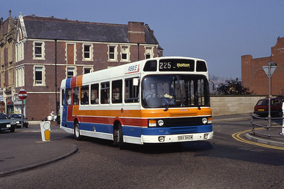 Stagecoach Ribble 843 Blackburn Bus Stn Sep 91