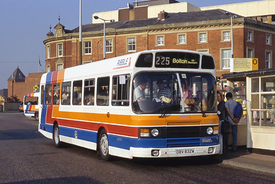 Stagecoach Ribble 832 Blackburn Bus Stn Sep 91