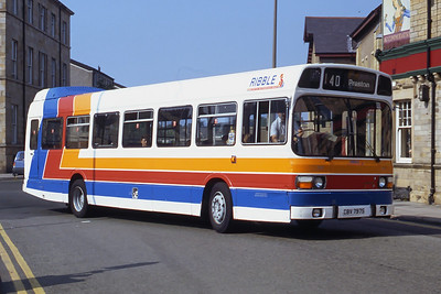 Stagecoach Ribble 797 Chapel St Lancaster Sep 91