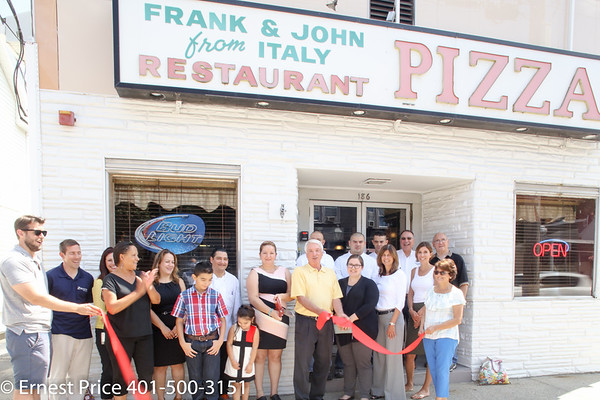 EGCC-Ribbon Cutting-Frank and John's Restaurant