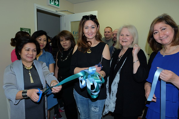 Ribbon Cutting of Celeste School of Advanced Aesthetics