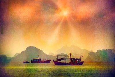 On Ha Long Bay