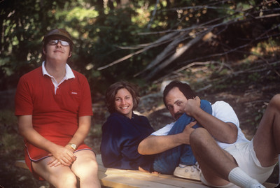1977-07 Chuck, Nancy, & Greg