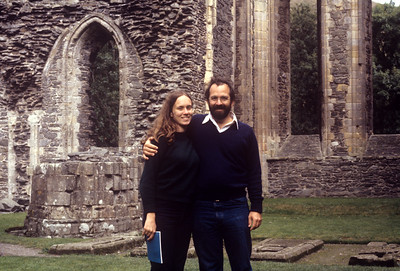 1981-09 Ruined Abbey John & Chris