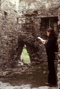 1981-09 Ruined Abbey Chris