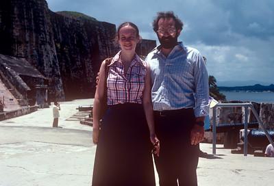 1981-09 Puerto Rico John & Chris