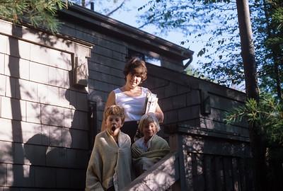 1982 (?) Jennie, Jon & Sue Broad