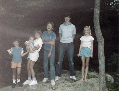 1982? Cousins Bonnie, Jon, Jennie, Nicole, Matt & Chris