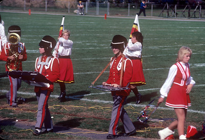 1984-11 Bonnie in Thanksgiving Day Marching Band-2