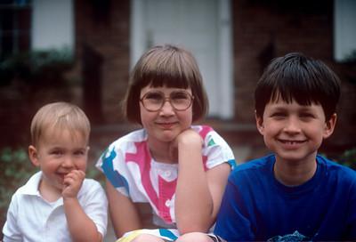 1986-03 111 Chris, Nicole & Matt Ricca