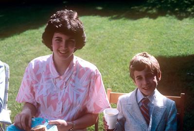 1988-06-11 Bonnie Piano Recital Bonnie & Peter