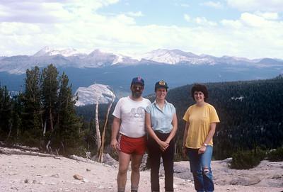 1988-08 Nelson Lake Yosemite John, Chris & Bonnie