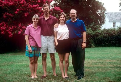 1990-08 Katie & Jad Roberts, John & Chris