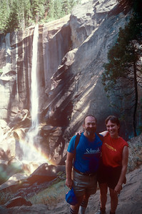1989-09 John & Chris in Yosemite