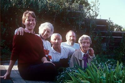 1989-11 John, Chris, Jeanne, Michael & Anut Esther