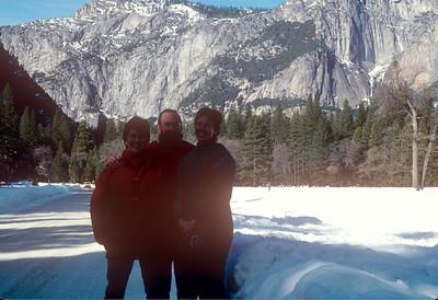 1989-02 John, Chris & Bonnie Yosemite
