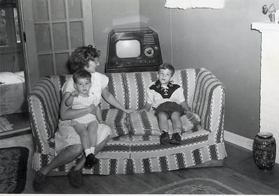 1951 John, Barbara & Bryan Becker