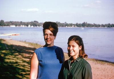 1965 Carolyn Berge & Sue