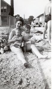 1947 Jeanne, John & Sue