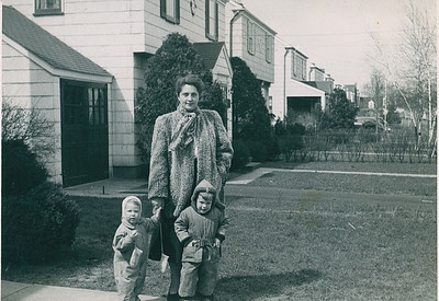 1947 Jeanne, John & Sue Ricca Bergenfield NJ