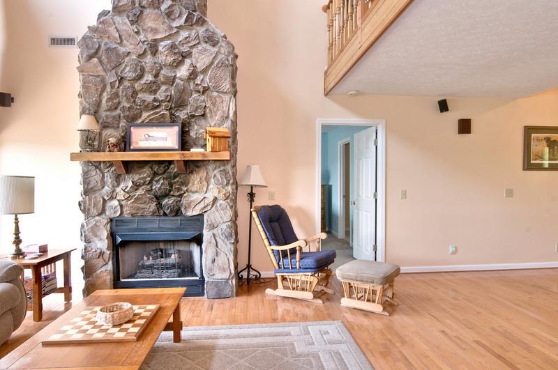 Sitting Area & Fireplace - Main Level