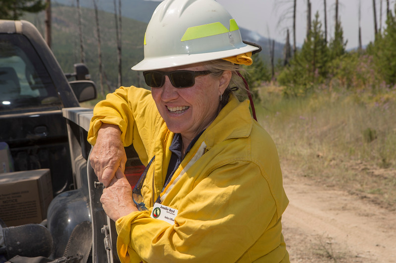 Lolo National Forest Fires, 2017, Montana