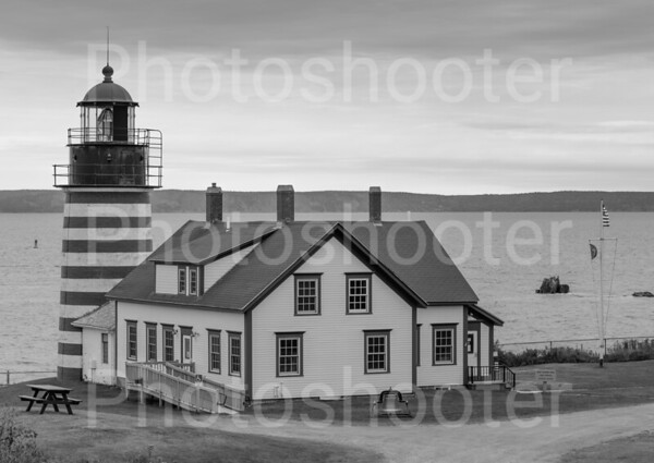 Lubec Lighthouse in Maine
