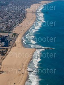 Manhattan Beach (El Porto) on LAX departure